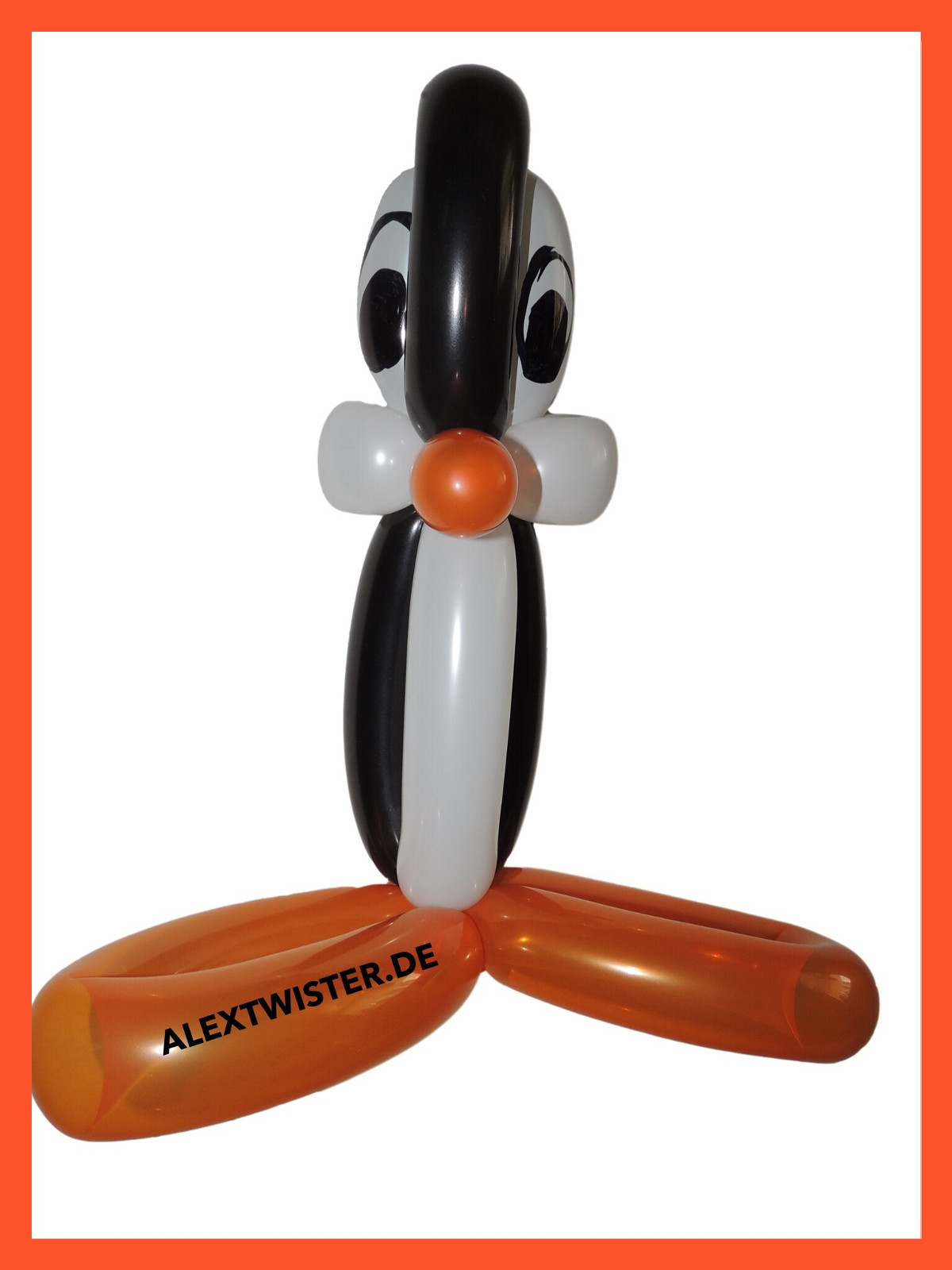 Ballon Art Pinguin